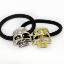 Skull Hair Accessories - Gold