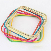 Colorful Neon Square Bangle