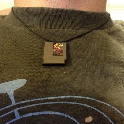 NES Cartridge Necklace
