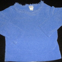 PURPLE SWEATER-TALBOTS KIDS-SIZE 7