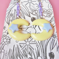 Pastel Moon Dream Earrings