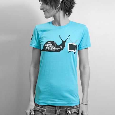 Women's T.V. Snail - Blue