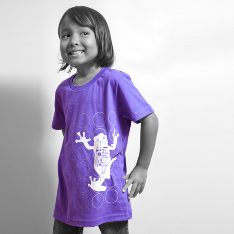 Kids Twister Frog - Purple