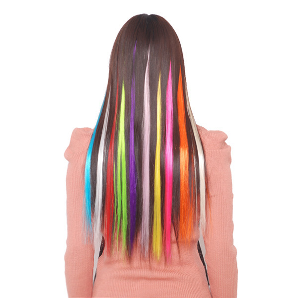 Vibrant Color Hair Extensions 104
