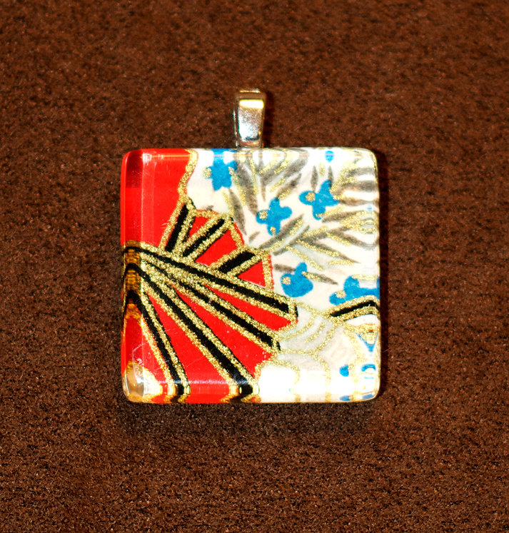 from the hoard quot fans quot glass tile pendant store