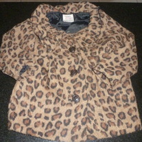 Leopard Coat-Old Navy Size 4T