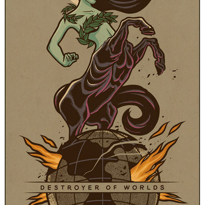 Destroyer of worlds - print