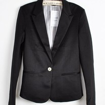 Black Fall Blazer
