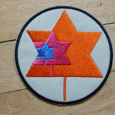 Revolution winter embroidered patch
