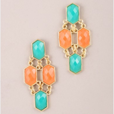 Annabel turquoise earrings