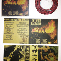 Shitnoise Bastards/Hate Junkie Split 3'' mini cd