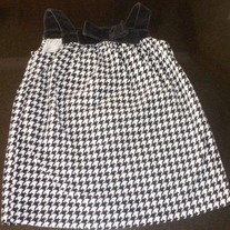 Black/White Sleeveless Top-Gymboree Size 4T