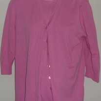 Pink Shell and Cardigan-Mimi Maternity Size M/L