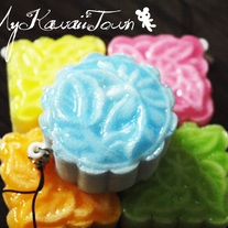Squishy Colourful Mooncakes