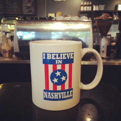 I believe - coffee mug