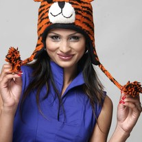 Orange Tiger Hat