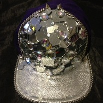 Masterpiece: Mirrored & Crystal Snapback
