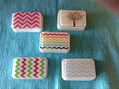 semi-custom chevron soaps