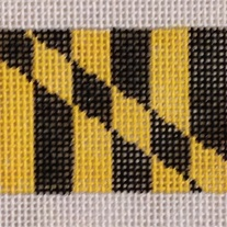 Maryland Flag Belt on 18 mesh