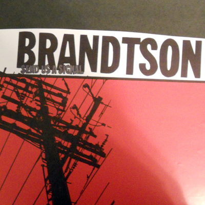Brandtson - send us a signal (regular test press)