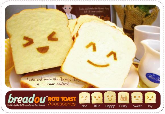 Squishy Roti : Breadou Roti Toast Squishy on Storenvy