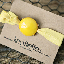 knotie bubble original - yellow w/gold