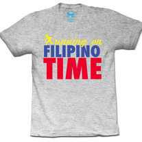 Running/Filipino Time (Heather Grey)