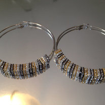 Basketball Wives Earrings (Gunmetal, Gold, and Silver) FREE SHIPPING