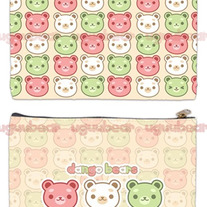 Dango Bears Zipper Bag