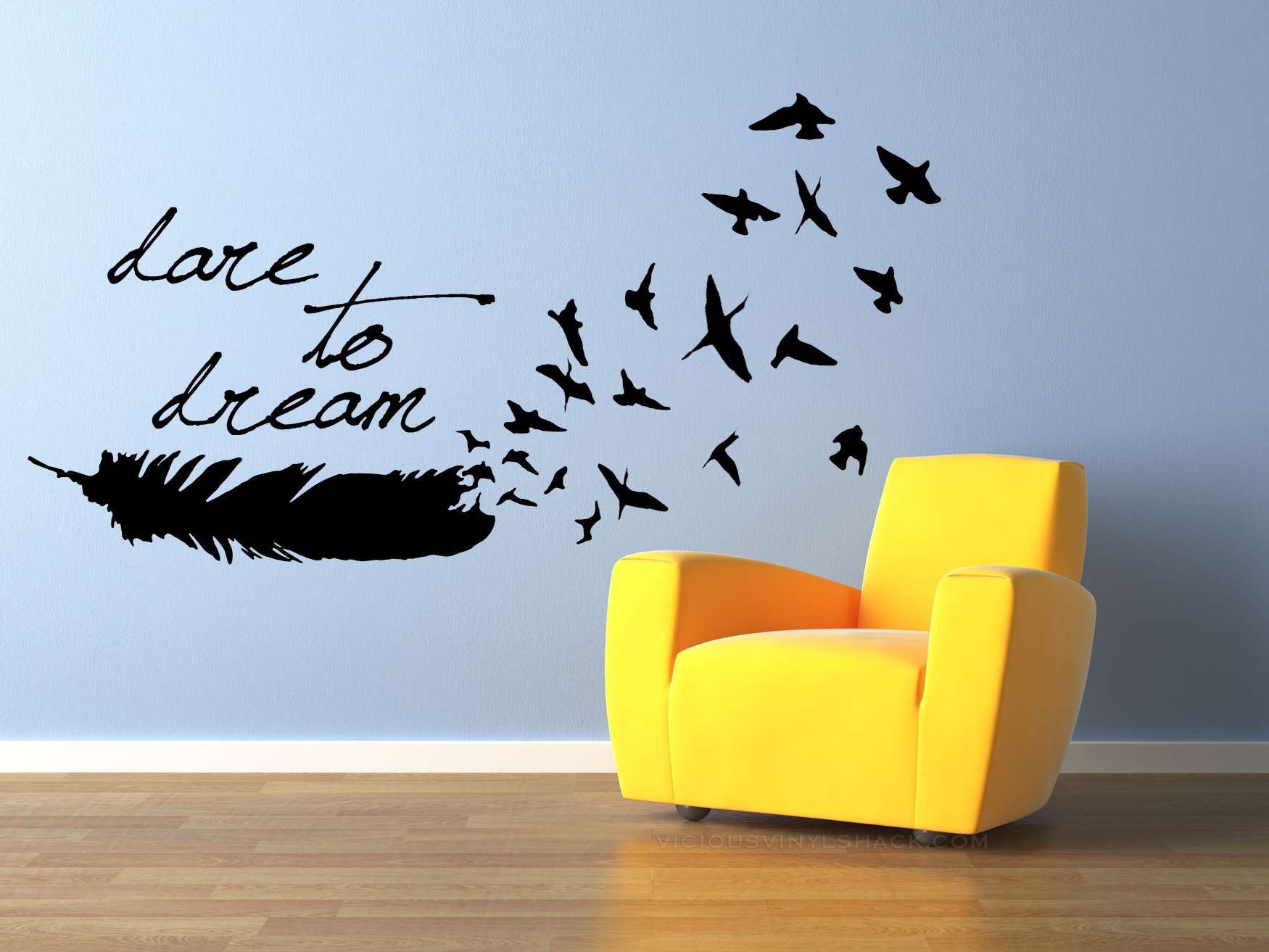 Wall Decals Dream Quotes Quote Vinyl Wall Decal