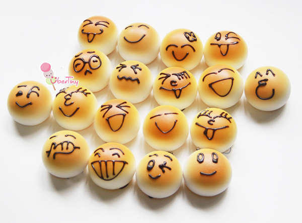 My Squishy Bun Collection : Emoticon Squishy Buns ? Uber Tiny ? Online Store Powered by Storenvy