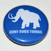 "WOOLLY MAMMOTH 1"" Button"
