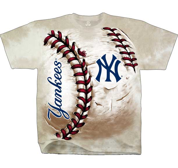 Hot new trendy officially licensed new york yankees logo for Same day custom t shirts nyc