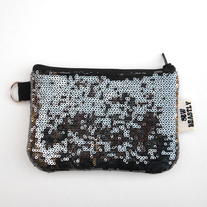 MINI-POUCH IN SEQUINS