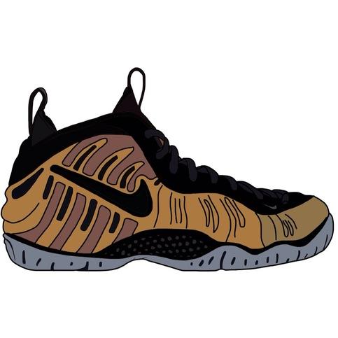 Cartoon Of A Nike Shoe