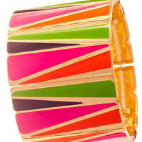 Triangular Stretch Bracelet - Various Colors