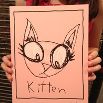 """Kitten"" Limited edition art print"