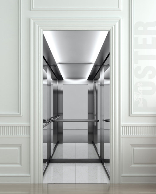 Door STICKER elevator house lift mural decole film self-adhesive poster 30x79\ (77x200 & Door STICKER elevator house lift mural decole film self-adhesive ...