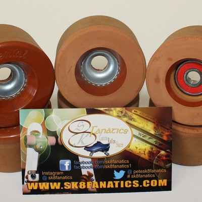 Original rental fomac roller skate clay wheels - new!