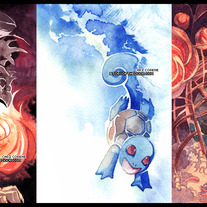 Starter Pokemon Postcards