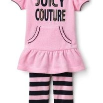 Juicy Couture Ballet Slipper 2-Piece Set