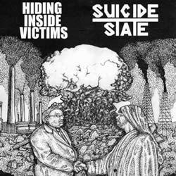 HIDING INSIDE VICTIMS / SUICIDE STATE - Split  EP