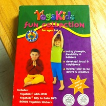 Yoga Kids Fun Collection Ages 3-6 (2 DVD Pack)