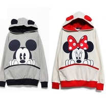 Minnie & Mickey Hooded Sweater