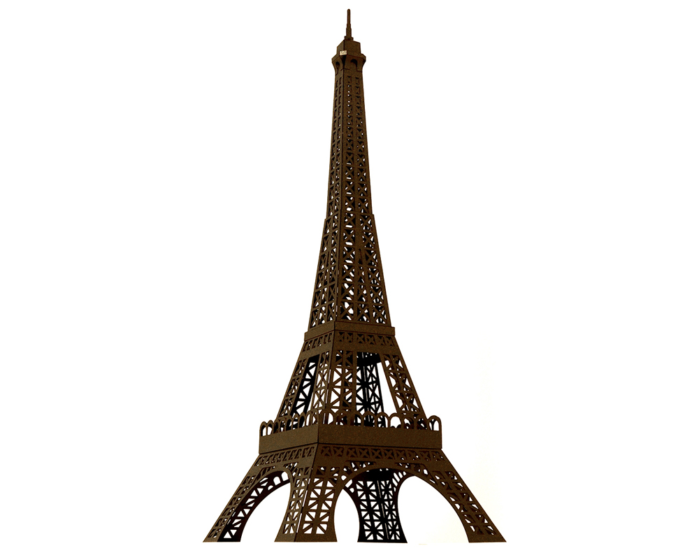 eiffel tower model template - paper craft new 255 paper craft eiffel tower