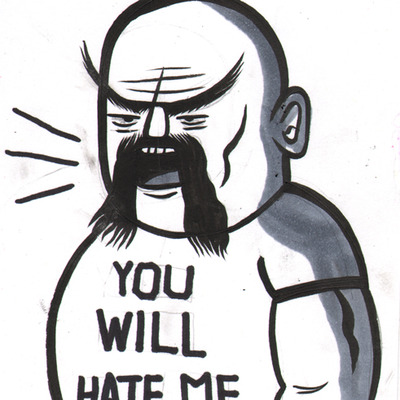 Wrestling entertainers - ox baker you will hate me