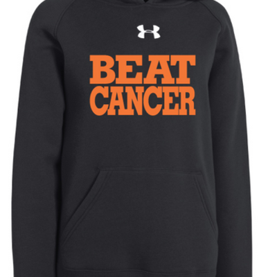Youth black/orange under armour®‎ hoodie