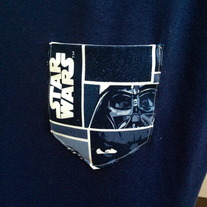 Navy Star Wars T-Shirt