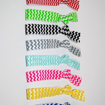 Chevron Hair Ties Set