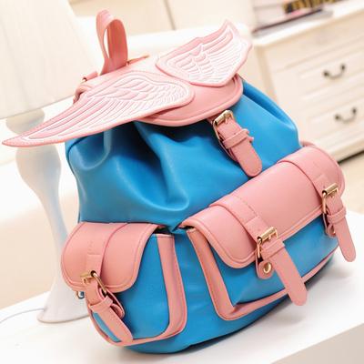 Pink wings backpack